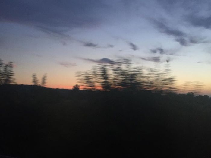 Movement Motion Blurred Motion Blur Movement Photography BlurredLines Sunset Busphoto Sky Colors Colour Of Life Colorful Dark Nature Windowphotography First Eyeem Photo