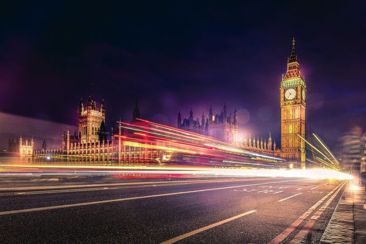 Some great old memories from London❤️❤️❤️ Night London Big Ben House Of Parliament City Cityscape Long Exposure Light And Shadow Lighttrails LONDON❤ Clock Tower Light Trail Traffic Motion Illuminated Travel Destinations Transportation Speed Blurred Motion English Downtown Road Street Iconic Architecture Neighborhood Map Your Ticket To Europe