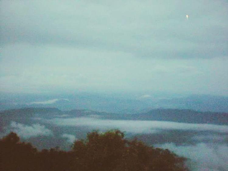 Himalayas, India Clouds Night