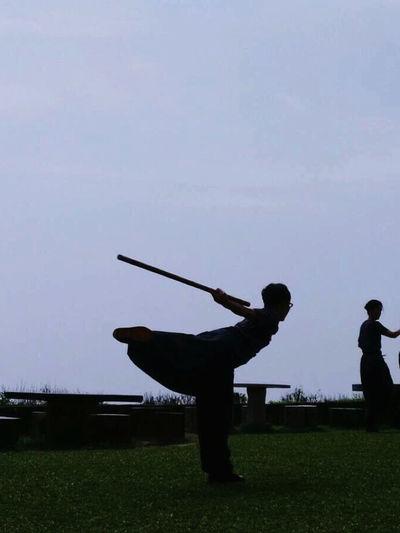 Leisure Activity Lifestyles Martial Arts Men Real People Sport TaiChi Boxing TaiChi Stick First Eyeem Photo