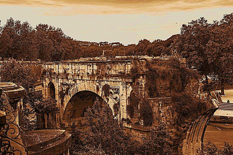Roma Architecture_collection Ponterotto EyeEmBestPics Bridgesaroundtheworld Bridge Ponte Ponteromano Detail