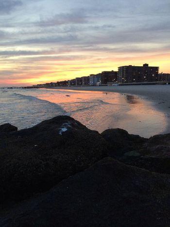 Sunset At Long Beach, NY Beautiful Sky Splendid_reflections EyeEm Best Shots