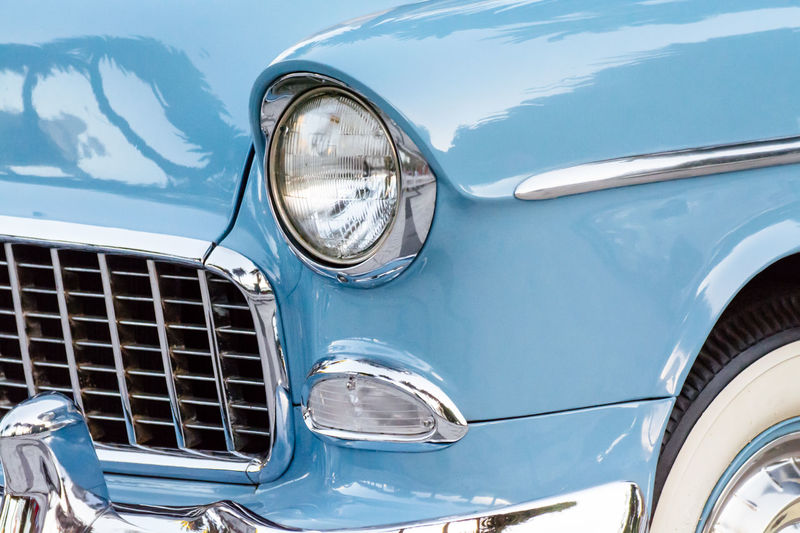 Car Chrome Classic Car Collector´s Car Colour Image Design Detail Headlight Horizontal Land Vehicle Mode Of Transport No People Old Car Old Fashioned Outdoors Pastel Colors Reflection Retro Styled Shiny Transportation Vehicle Hood Vintage Vintage Car Vintage Cars The Drive