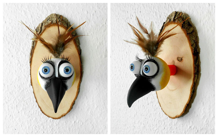 Art Bird Birds Walldecoration