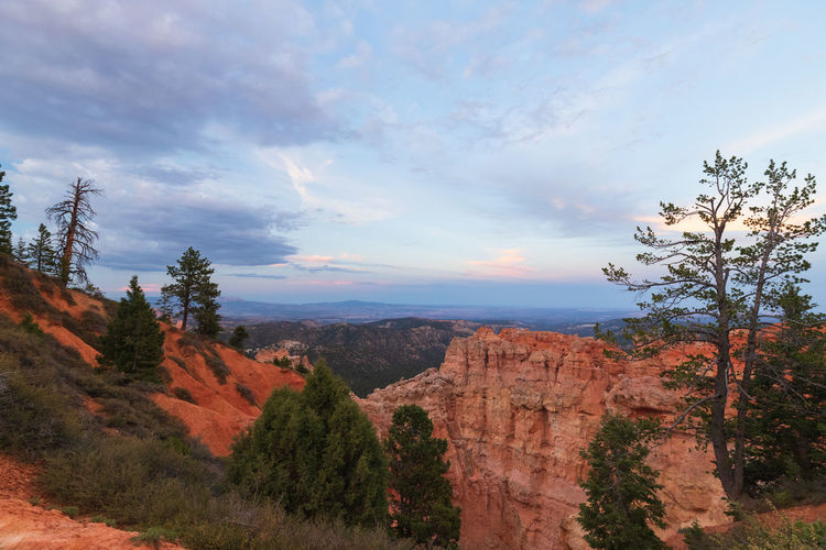 one of the greatest places I ever visited: the breathtaking Bryce Canyon NP Non-urban Scene Scenics - Nature Tranquility Tranquil Scene Outdoors Sunset Bryce Canyon USA Photos Tree Cloud - Sky Plant Sky Beauty In Nature Nature Landscape Land Environment No People Travel Destinations Mountain Rock Day Travel