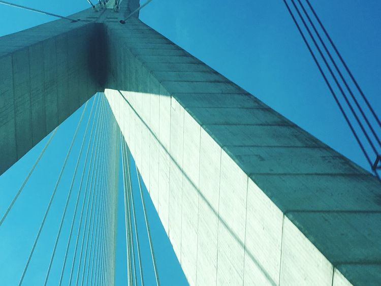 Envision The Future Normandie bridge blue sky's Check This Out