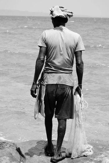 Fish man at Andaman & Nicobar
