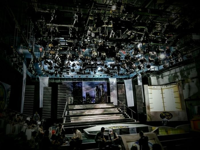 The Mix Up Gameshow Behind The Scene Lights in Ho Chi Minh City