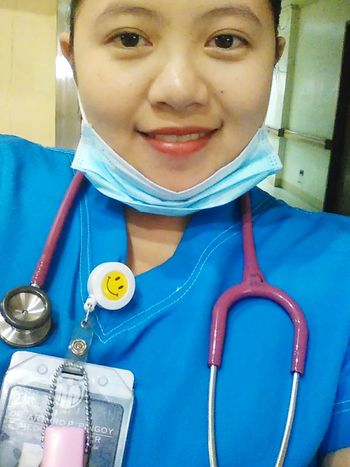 Selfie ✌ while On Duty Blue Uniform Save Lives Nurse On Duty Nurse Life I Am A Nurse Nurses Rock Tender, Loving Care First Eyeem Photo Faces Of EyeEm Its Me :) Self Love Single ♥
