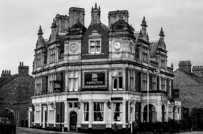 The Abingdon Park Hotel, Wellingborough Road, Northampton Northampton Pubs Northampton Pubs Black And White