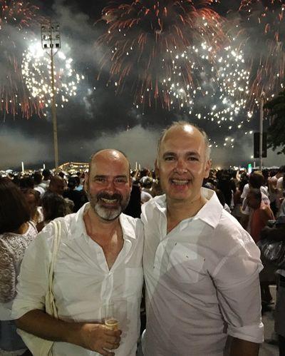 Happynewyear2016 Réveillon How You Celebrate Holidays Copacabana - Rio De Janeiro Happy Holidays! Holiday Lights Dearfriend