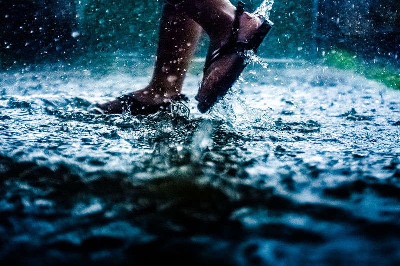 Rainy Days The Street Photographer - 2018 EyeEm Awards The Week on EyeEm Motion Outdoors Splashing Streetphotography Water
