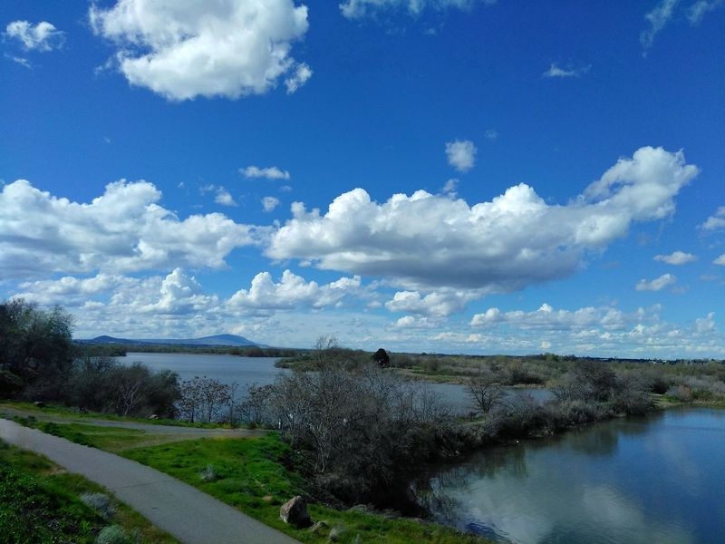 Outdoors Beauty In Nature Water No People Nature Sky Cloud - Sky Scenics Tranquility Washington State Columbia River WA Day Beauty In Nature
