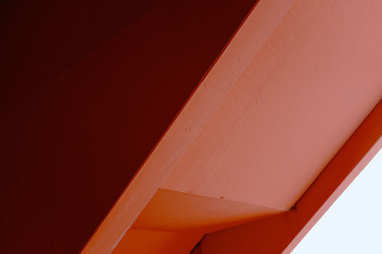 17.62° Red Architecture Built Structure Wall - Building Feature No People Day Transportation Close-up Airplane White Color Mode Of Transportation Air Vehicle Copy Space Abstract Outdoors Nature Backgrounds Travel Single Object Aerospace Industry Ceiling My Best Photo