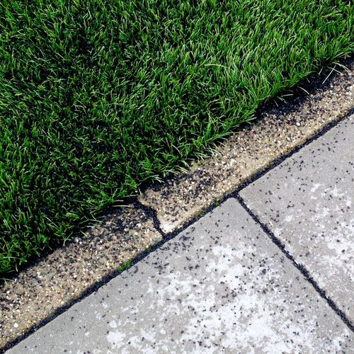 IPS2016Composition Artificial Grass Soccer Field Soccer Green Lines Sidewalk Detail