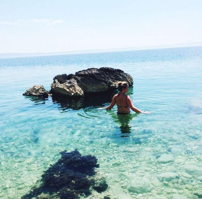 💦 Beach Helloworld Summer Water Nature Stone Naturelover Girl Hot