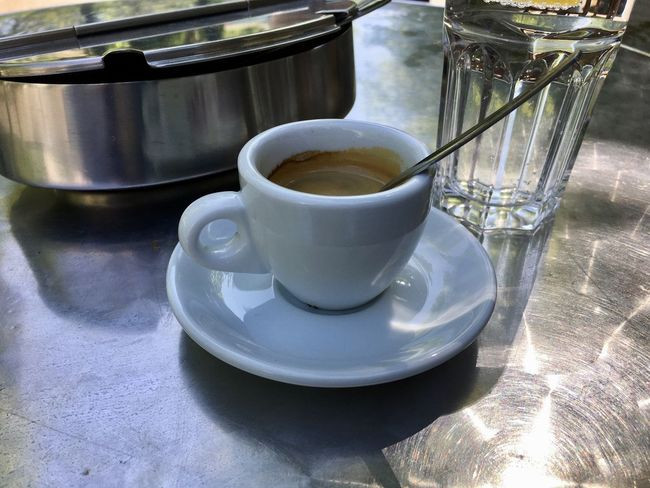Espresso Close-up Coffee Coffee - Drink Coffee Cup Crockery Cup Drink Food Food And Drink Freshness Hot Drink Indoors  Mug No People Refreshment Saucer Still Life Table Tea Tea Cup