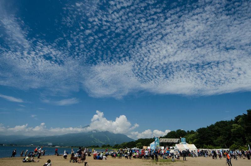 Bandai Mountain Festival Season Sky And Clouds Cenery Of Music Festival Landscape あいずばんだいs まつり 夏フェスの風景