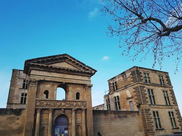 Provence Luberon Ruins Architecture City History Sky Architecture Building Exterior Built Structure Cloud - Sky