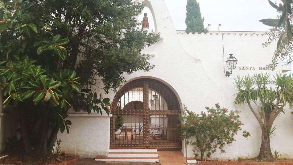 Holidays Cambrils SPAIN Church August2014