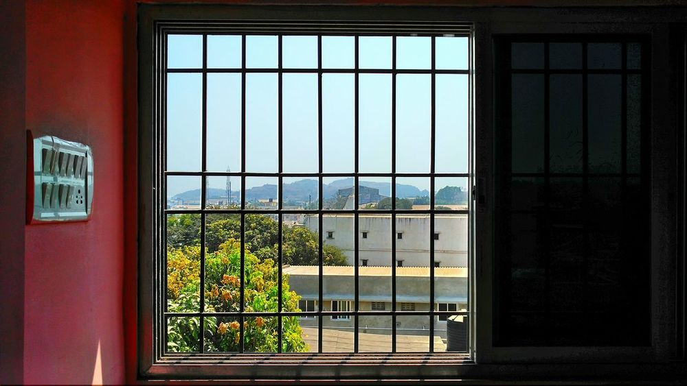Window Indoors  No People Day Built Structure Security Bar Architecture Sky Temple MrRobPhotography LenovoVibex3 Tree Robinraj Switch