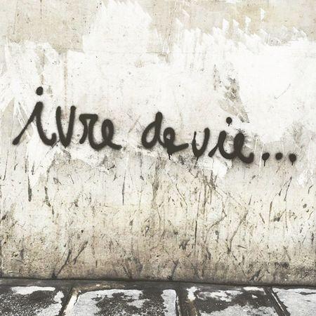 Paris Art Street Jackleblack Lifeisbeautiful Ivredevie Walking City Graffiti Font Mur