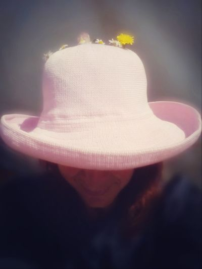 Summer is in my mind Sunshine Sunshine ☀ Hat Woman Woman Hat Summer Spring Springtime Flower Head Blooming Pink In Bloom Blossom