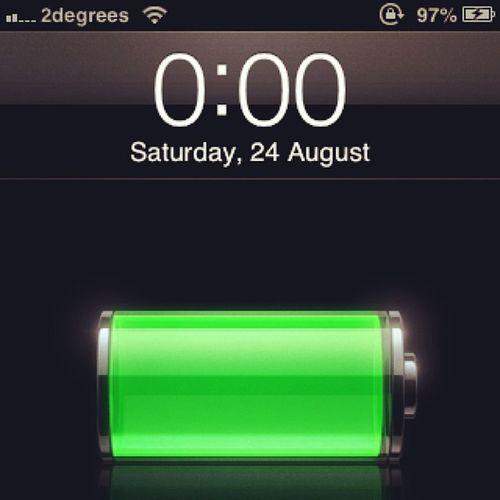 Should I be alseep ?? Alseep Clock Midnight IPhone