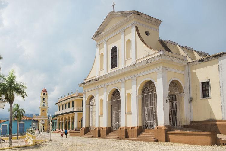 Architecture Building Buildings Cuba History KuBa Plaza Major Religion Sky Spirituality Travel Destinations Trinidad Trinidad, Cuba Yellow
