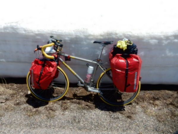 Snow Bike Bicycle Bike Tour Mode Of Transport Mountains Outdoors Red Snow Utah