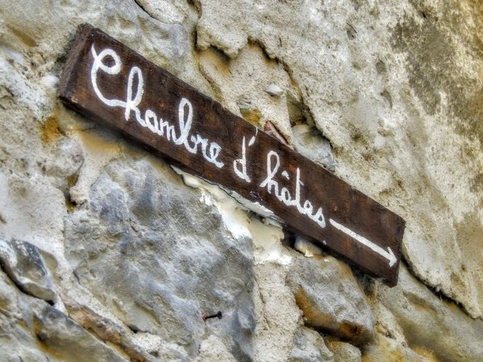 Provence Annot Close-up Communication Day Nameplate No People Outdoors Text