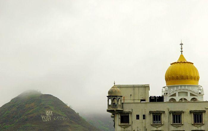 Place Of Worship Religion Spirituality Fog Dome Mist Golden Dome India Patriotism Weather Monsoon Rains Jai Hind Mumbai, India Mother India Travel Story