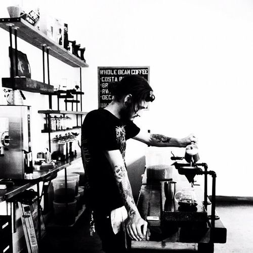 Shootermag Bnw_life AMPt - Cafe Culture