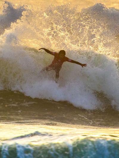 2015 Men's Samsung Galaxy Championship Tour Atlantic Ocean Champions Extreme Sports Famous Filipe Toledo Final Fire Moche Rip Curl Pro Surfing Ocean Stunts Sunset Surfing Vibrant World Championship Surfing World Surf League Wsl Surf's Up