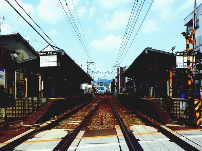 Ichijoji(一乗寺) Railroad Track Rail Transportation Track Sky Built Structure Building Exterior Transportation
