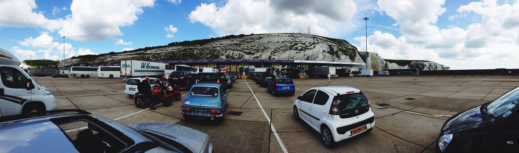 Starting A Trip @ Dover England via Ferry