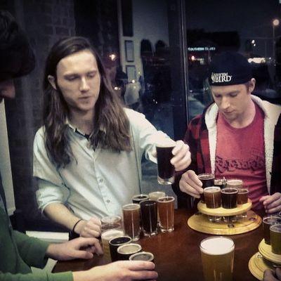 Beer tasting and bros at BadWolfBrewery :)