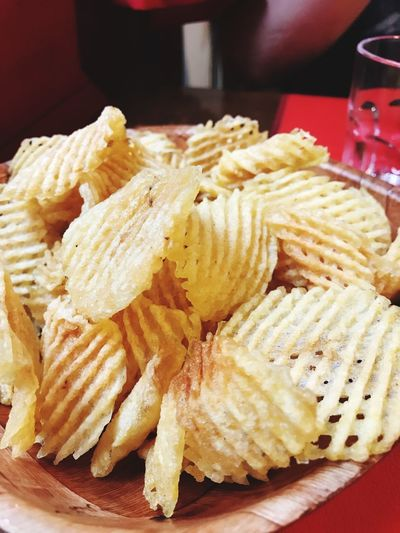 Papas rejilla Grilled Potato Potatoes Chips Potato Food And Drink Food Indoors  Still Life Close-up Freshness Ready-to-eat Unhealthy Eating Indulgence No People Serving Size Snack Temptation