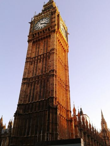 BIG BEN, 2013 Eurotrip (LONDON - ENGLAND) Clock Tower Clock Travel Destinations History Tourism Outdoors Sky No People Time Travel England 🇬🇧 EyeEmNewHere Architecture Built Structure Day Low Angle Of View London Eurotrip