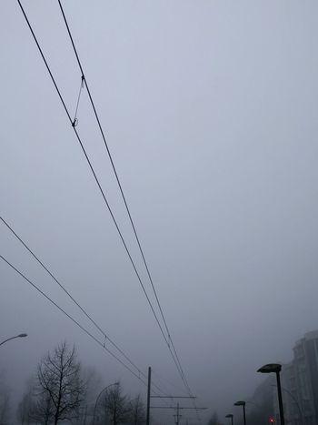 Good Morning Foggy Morning What The Fog Morning Commute Railroad Tracks Winter