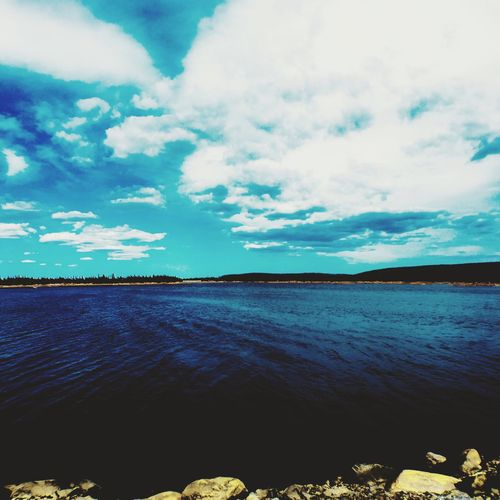 Shot On IPhone 6s Iphonography Gambo Newfoundland Water Rural Scenes