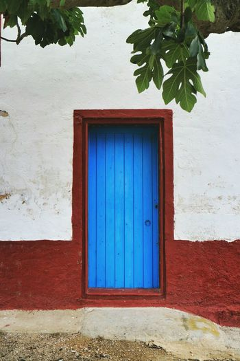 Built Structure With Closed Door