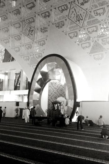 Blackandwhite Photography Indoor Photography Worshiping God INDONESIA Moslem Indonesia
