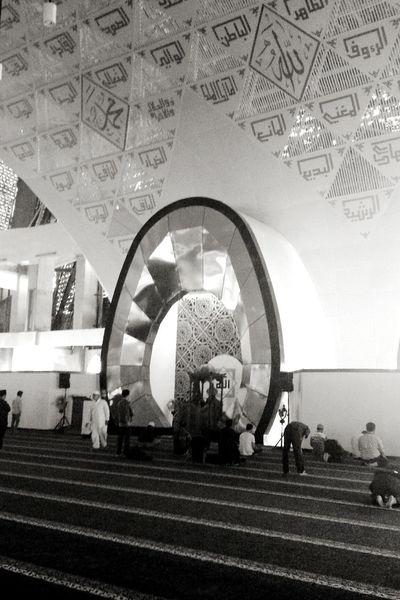 Blackandwhite Photography Indoor Photography Worshiping God INDONESIA Moslem Indonesia