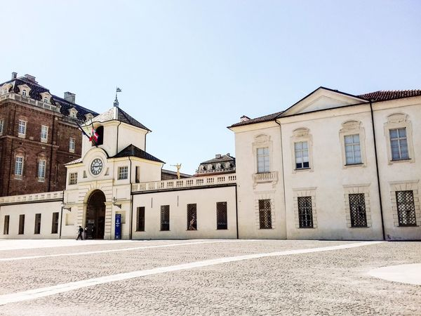 Torino Architecture Built Structure Building Exterior Outdoors Clear Sky Sky Day Venariareale Venaria Reale Italia Italianeography