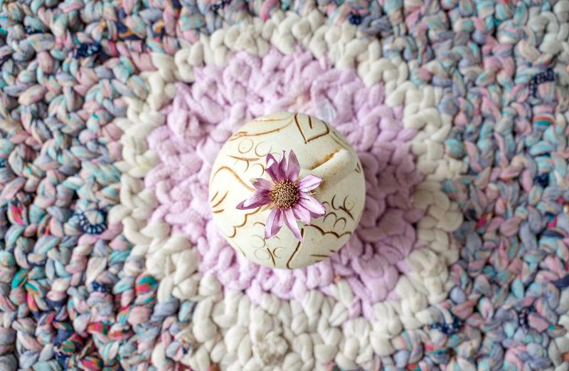 Full frame shot of flower decoration
