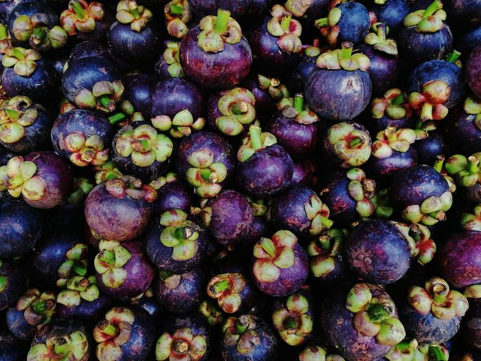 HuaweiP9 P9 Huawei PhonePhotography Fruit Mangosteen Tropical Organic Raw Food Flower Backgrounds Full Frame Market Supermarket Vegetable Purple Retail  Close-up Food And Drink Display Healthy Food Ripe Juicy For Sale Farmer Market Market Stall