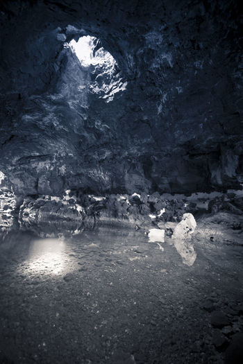 Beauty In Nature Cave Cold Temperature Day Indoors  Nature No People Tranquility Water