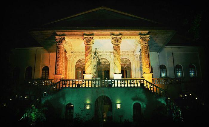 Tehran Nights Night Lights Palace Tehran