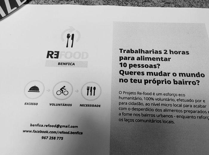 Quem quer???! ^_^ Refood Voluntariado Benfica Food